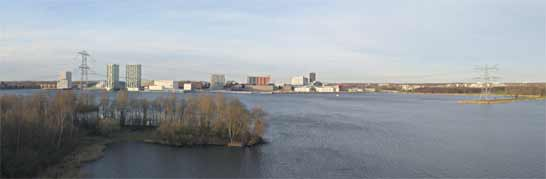 Almere Stad, panorama, 3-2-2008