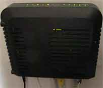 Draadloze modem/router/switch
