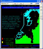 A NOS teletext page